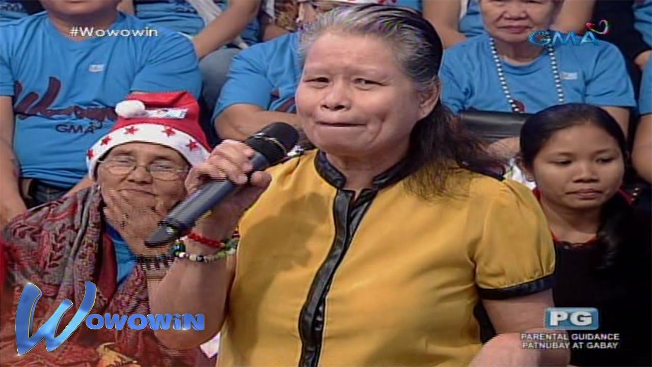 Wowowin: Ina ng isang contestant, dalawang beses nang nabiyuda