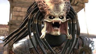 Mortal Kombat X - Predator DLC Klassic Arcade Ladder Gameplay Playthrough