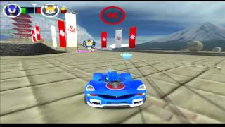 Sonic & All-Stars Racing Transformed геймплей (gameplay) HD