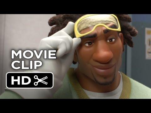 Big Hero 6 MOVIE CLIP - Meet The Team: Wasabi (2014) - Damon Wayans Jr. Movie HD