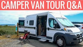 Hymer Aktiv Camper Van Tour Q&A // Your Most Common Questions Answered About My New Van