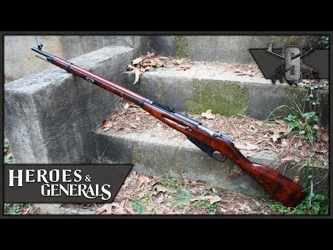 Iron Sight Mosin Nagant - Heroes and Generals - Soviet Infantry Gameplay 1440p60