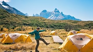 Hiking the spectacular W-Trek with Intrepid Travel in Torres del Pa...