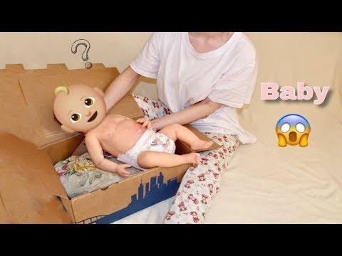 Распаковка куклы реборн / Silicone Baby Box Opening / полностью силиконовый реборн