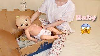 Обложка на видео о Распаковка куклы реборн / Silicone Baby Box Opening / полностью силиконовый реборн