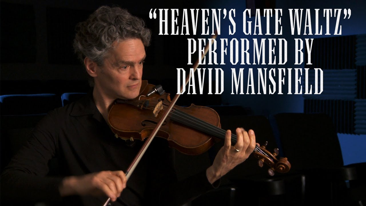 David Mansfield Plays The Quot Heaven S Gate Waltz Quot Youtube