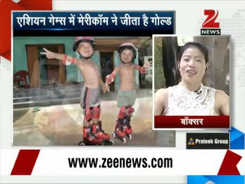 Zee Media Exclusive interview with Mary Kom