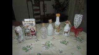 Artesanato: Decoração de natal com reciclagem