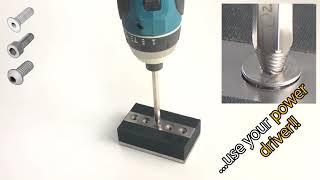 How to remove Damaged Socket Screws! (English)