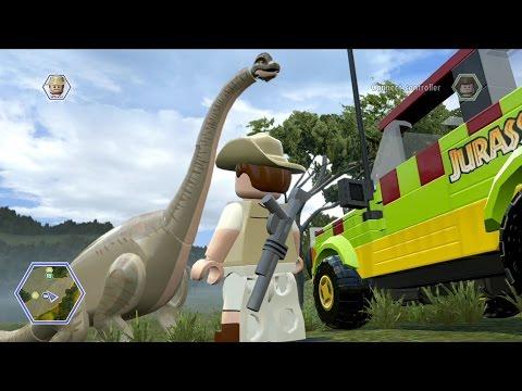 LEGO Jurassic World – Open World Free Roam Gameplay [HD]