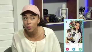 WORST Tinder Profiles - REACTION AND DATING TIPS w/ Shan Boodram and Shira Lazar