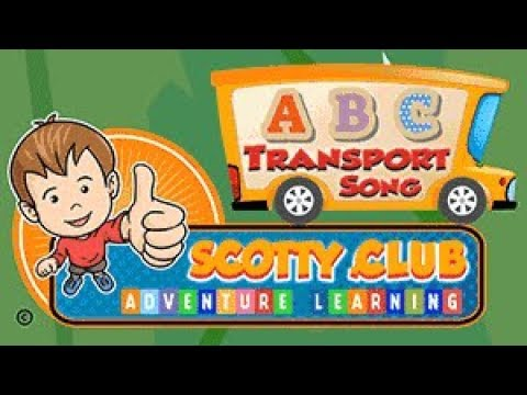 ABC Transport Song For Kids | Children's Alphabet Song | Kids Sing-a-Long Song (Original)