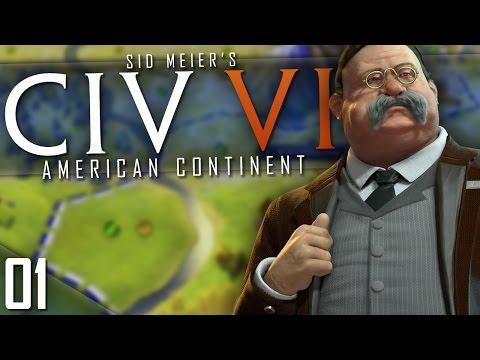 Civilization 6 | AMERICAN CONTINENT | Part 1