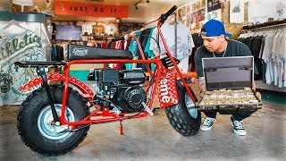Selling My Supreme Louis Vuitton Bike For $100,000