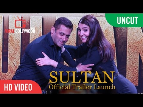Sultan Trailer Launch Full Event HD | Salman Khan | Anushka Sharma