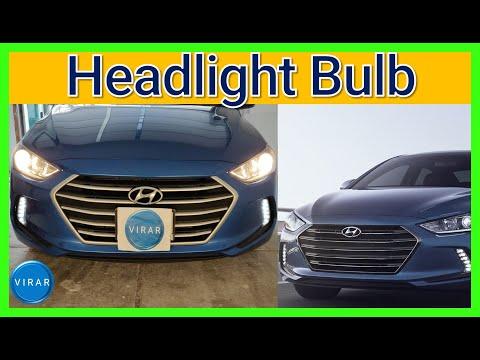 How to Replace Headlight Bulbs – Hyundai Elantra (2017-2018)