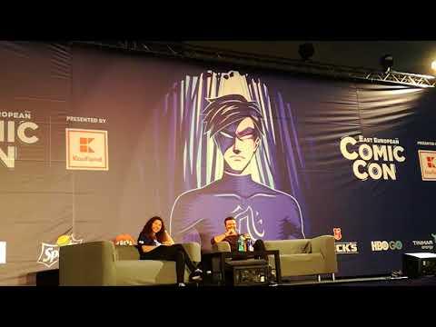 Daniel Gillies Eastern European Comic Con 2018 Panel Part 12