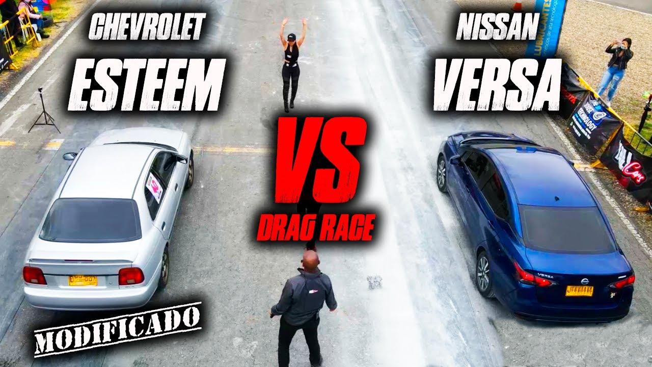 Chevrolet Esteem VS Nissan Versa PODER DE MAQUINAS!!