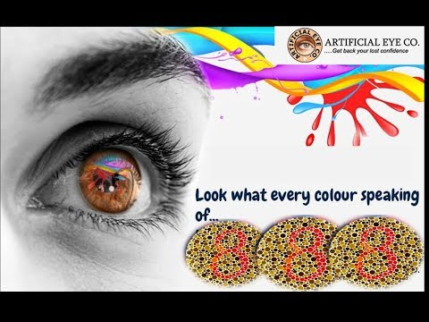 Latest colour blindness Ishihara test done during your medical test