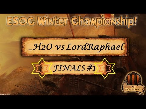 THE GRAND FINALS PART 1! _H2O vs LordRaphael [Bo9 w/ Zuterjection]