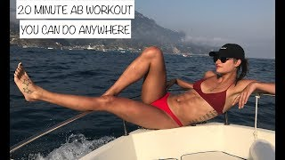 20 Minute Ab Workout You Can Do ANYWHERE