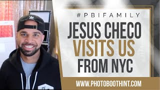 Photo Booth | Jesus Checo Visits Us From NYC | Photo Booth Business