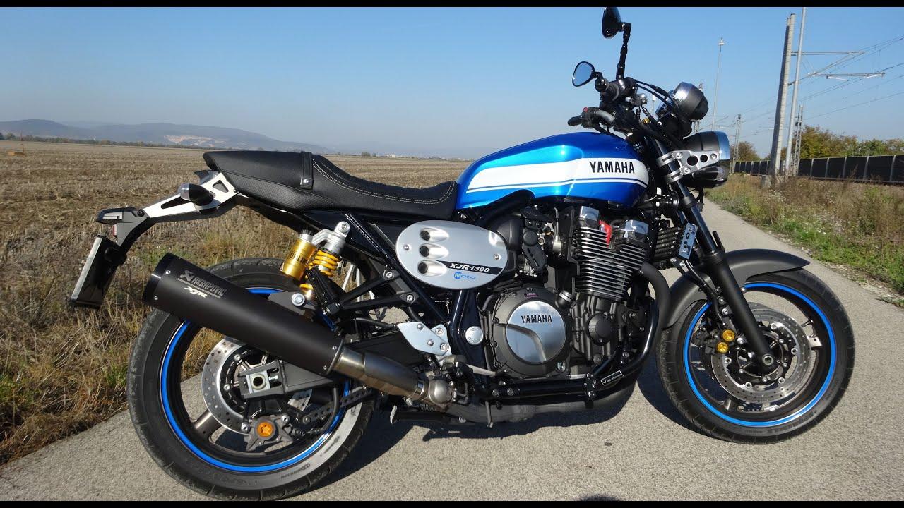 2015 Yamaha XJR 1300 Akrapovič - YouTube