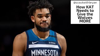 Karl-anthony Towns Needs To Give The Wolves More