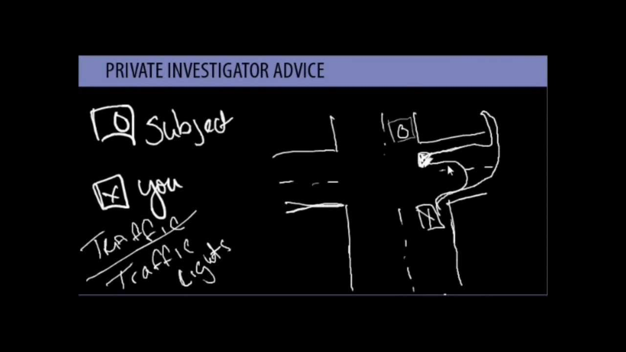 Private Investigator Mobile Surveillance Training and Tips