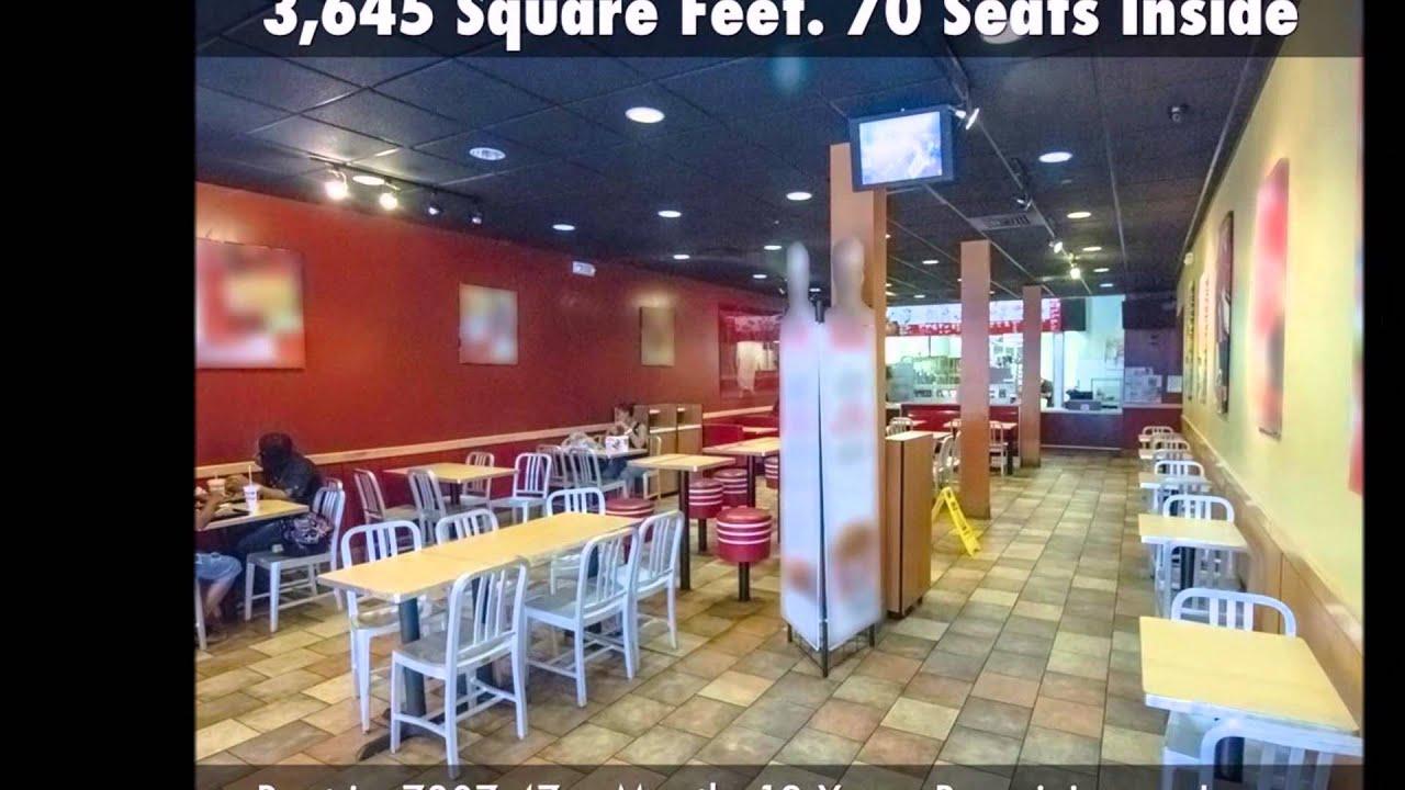 Fast Food Restaurants Downtown