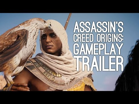 Thumbnail: Assassin's Creed Origins Gameplay in 4K - Assassin's Creed Origins on Xbox One X