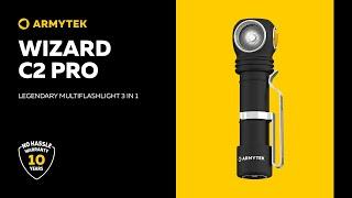 Video: Armytek Wizard C2 PRO - Lanterna frontala reincarcabila