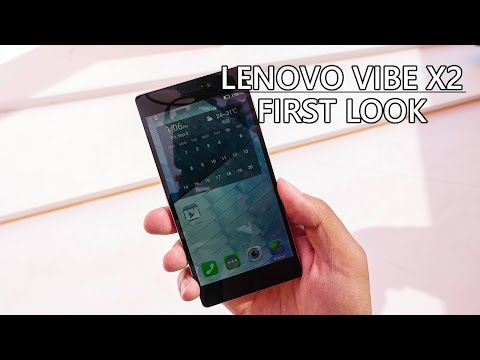 Lenovo Vibe X2 First Look