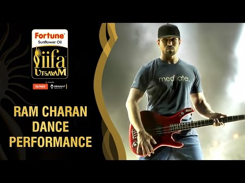 Ram charan about his Live Dance Performance at IIFA Utsavam | Behind The Scenes | IIFA Utsavam 2016