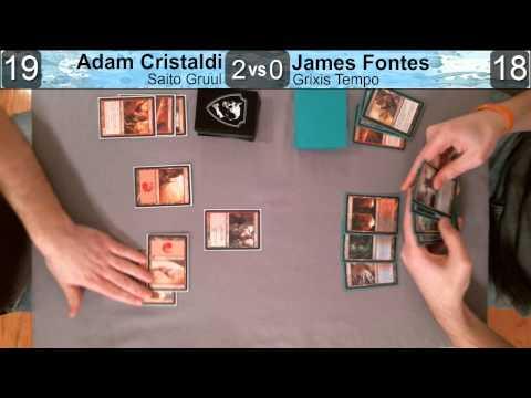 Adam vs James 2122013: Saito Gruul vs Grixis Tempo
