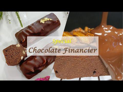 Nutty Chocolate Financier