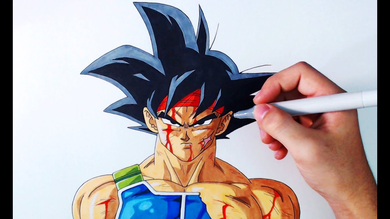 Cmo Dibujar a Bardock Paso a Paso  Dragon Ball Z  How to Draw