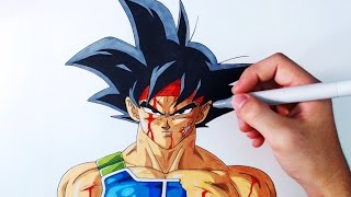 Cómo Dibujar a Bardock Paso a Paso | Dragon Ball Z | How to Draw Bardock | ArteMaster