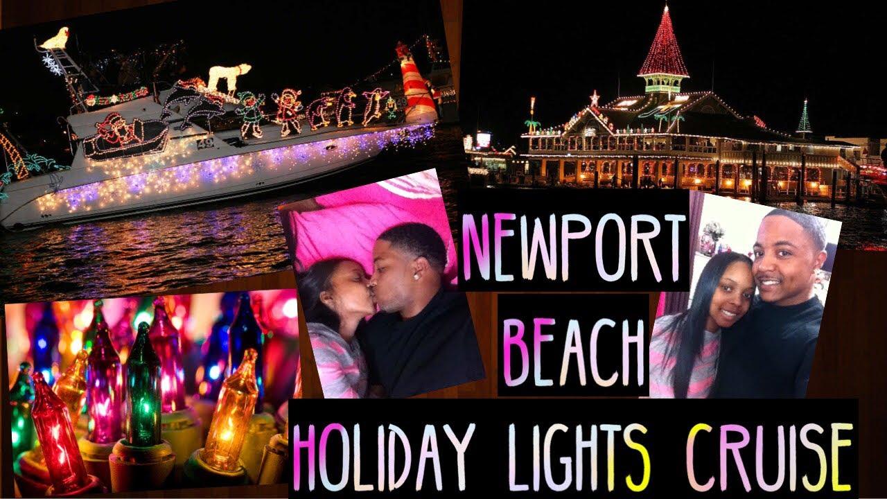 Newport Beach Christmas Lights Cruise.Holiday Lights Cruise Newport Beach Boat Ride Marlynda And Al