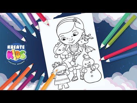 DOTTORESSA PELUCHE - DOC MCSTUFFINS - Disegni Da Colorare   Coloring Book