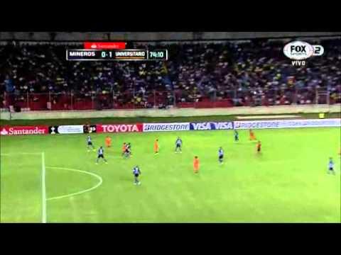 Mineros de Guayana 0 - 1 Universitario de Sucre Copa Libertadores 2015 from YouTube · Duration:  1 minutes 27 seconds