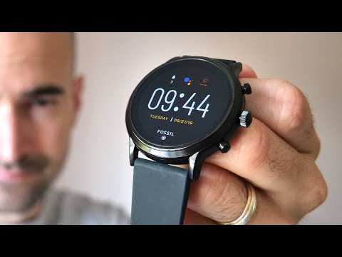 Fossil Gen 5 Smartwatch | Unboxing & Full Tour