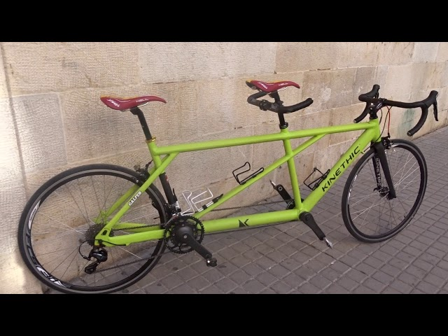 Tandem Kinethic  carretera  ,  size  to   size .Alu .  7020