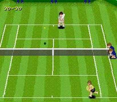 SNES Super Tennis