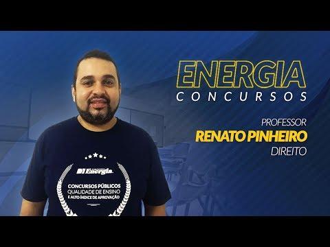 Polícia Civil de SC: Plano de Carreira com o Professor Renato Pinheiro