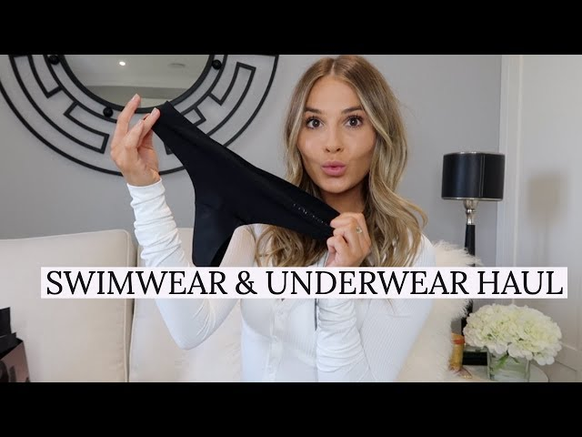 SWIMWEAR & UNDERWEAR HAUL | LOUNGE UNDERWEAR | NADIA ANYA Ad