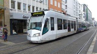 Germany: Trams in Kassel, April 2016