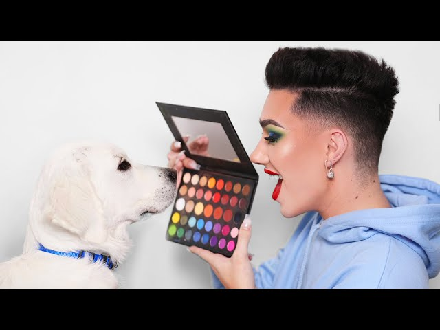 Puppy Picks My Makeup!