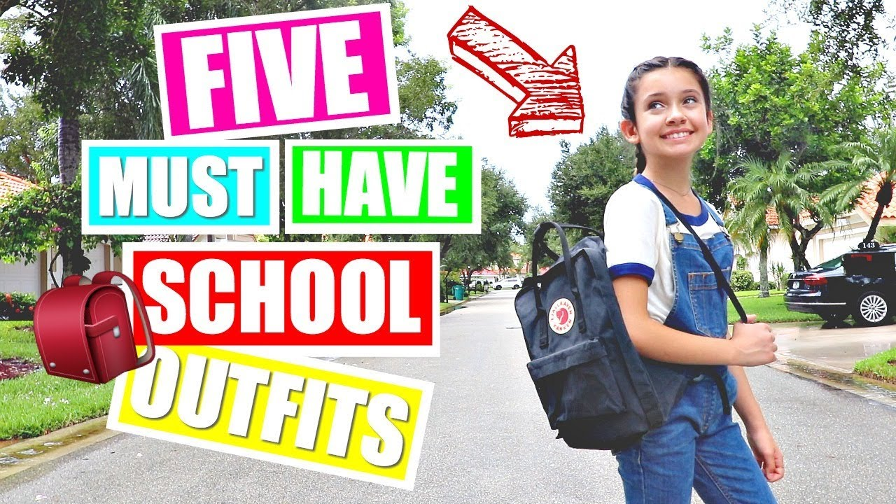 BACK TO SCHOOL HAUL | Try on haul Outfit Ideas ?? 6