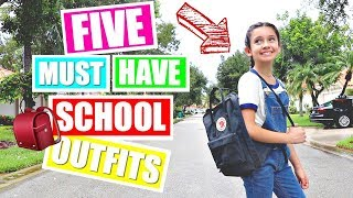 BACK TO SCHOOL HAUL | Try on haul Outfit Ideas 👚👖